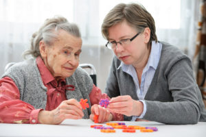 Elder Care in Laguna Woods CA: Playing Games With Seniors