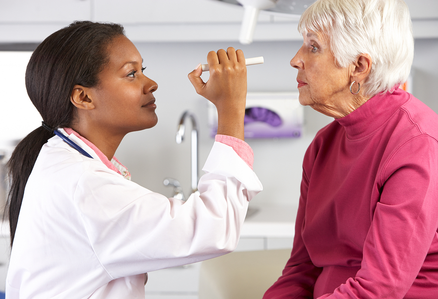 Home Care Services in Santa Ana CA: Glaucoma in Senior